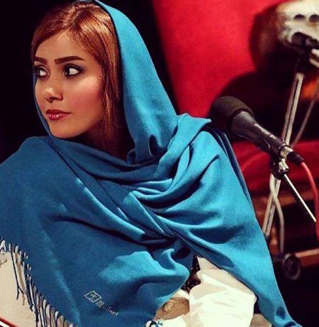 آلبوم عکس های جدید نوشین طافی خواننده زن ایرانی