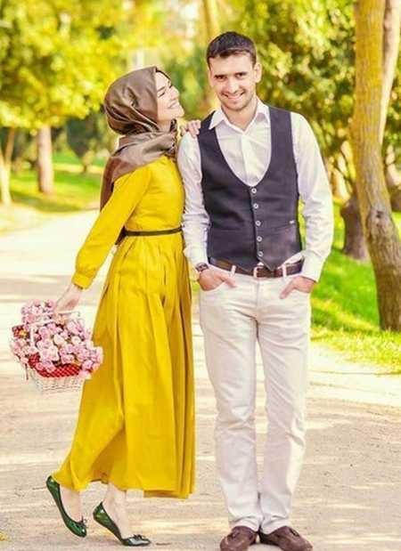 عکس های عاشقانه و احساسی عروس و داماد