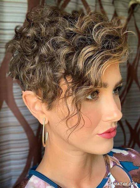 100 مدل موی فر زنانه مجلسی جدید