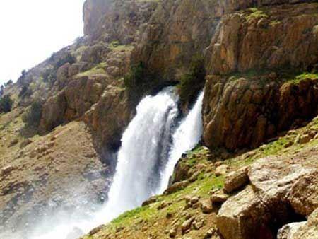 چشمه میشی یا بشو در شهر سی سخت + تصاویر