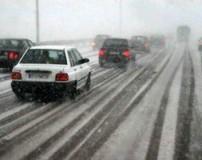 اقدامات ایمنی قبل از وقوع کولاک و یخبندان در جاده