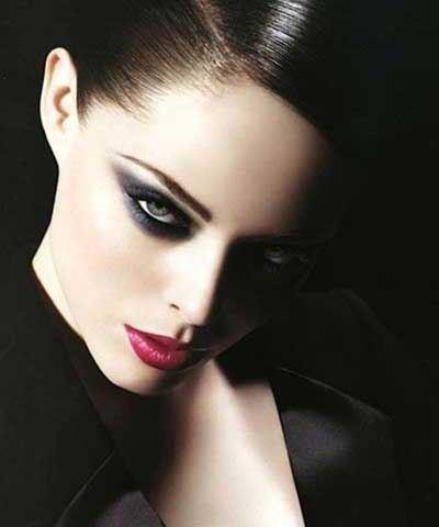 تصاویری از جذاب ترین مدل های آرایش صورت مخصوص شب