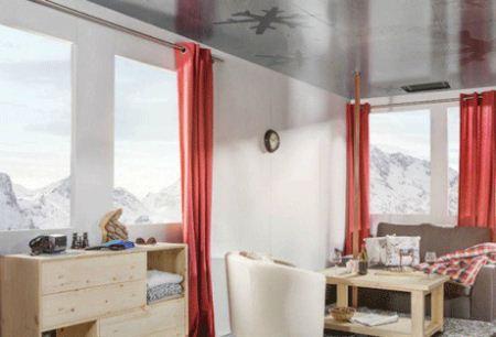 ترسناک ترین هتل معلق دنیا در کابین تله کابین + تصاویر