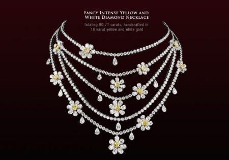 جدیدترین مدل های گردنبند جواهر و الماس