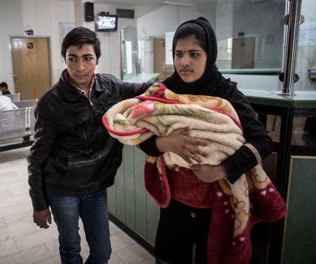 داماد 12 ساله کرمانی پدر شد + تصاویر