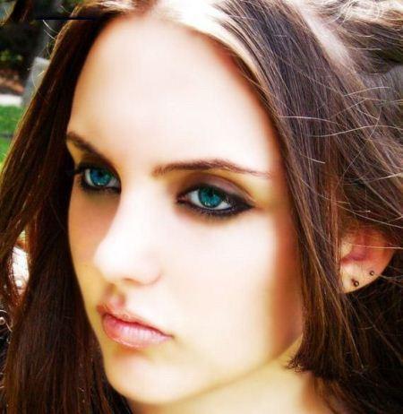 عکس های خوشگل ترین دختران چشم آبی