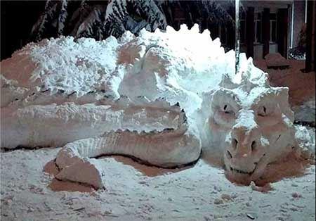 عکس های جالب ترین آدم برفی های جهان