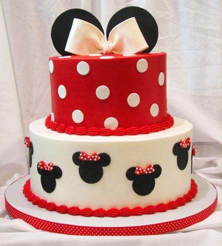 مدل های میکی موس کیک تولد