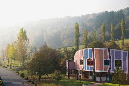 جالب ترین هتل آبگرم جهان در اتریش + تصاویر