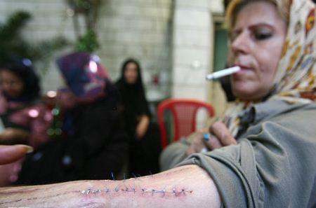 عکس های دیدنی از زنان معتاد ایرانی