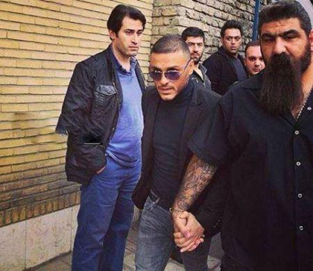 """بیوگرافی """"محمود گودرزی"""" بادیگارد آرمین 2AFM + تصاویر"""