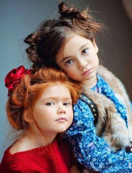 مدل موی شیک و جدید بچگانه دخترانه