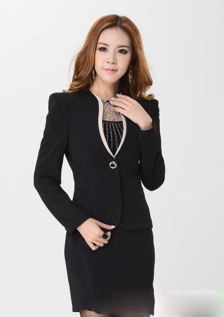 مدل های کت و دامن مجلسی زنانه با رنگ بندی کامل
