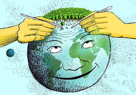 کاریکاتورهای جالب و بی نظیر روز درختکاری