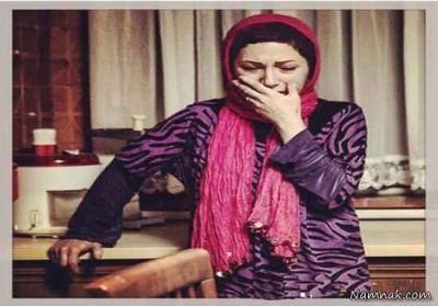 تماس رضا عطاران با بدن فریده فرامرزی در فیلم استراحت مطلق