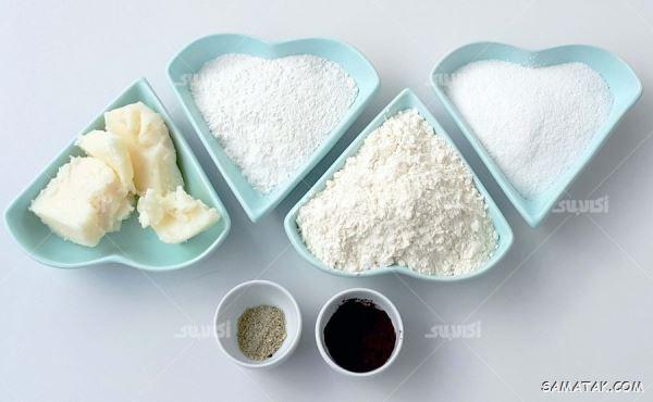 طرز تهیه شیرینی پادرازی قزوینی | دستور پخت شیرینی پادرازی قزوین