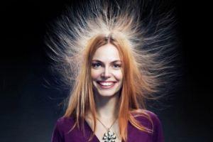 خنثی کردن الکتریسیته ساکن مو