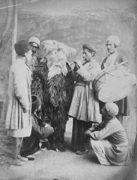 عکسهای تاریخی از جشن نوروز در زمان ناصرالدین شاه قاجار