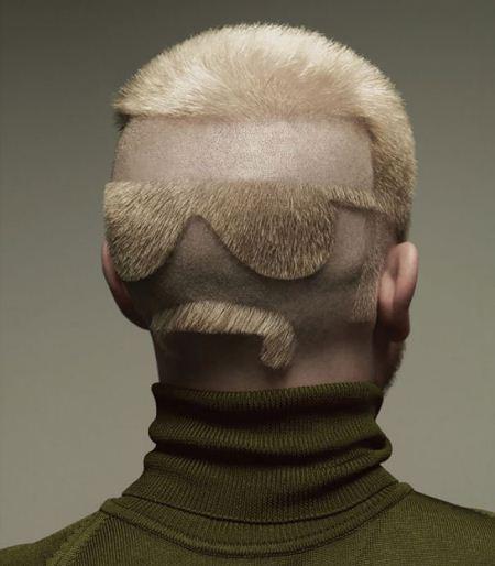 عکس های خنده دار از احمقانه ترین مدل موهای جهان