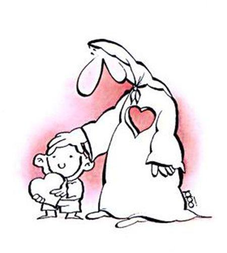 کاریکاتور زیبای تبریک به مناسبت روز مادر