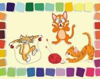 قصه گربه های شلخته برای کودکان