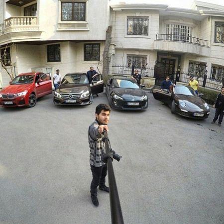 عکس ماشین های لوکس و آخرین سیستم بچه پولدارهای ایران