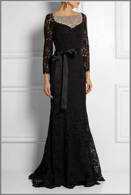 مدل لباس مجلسی زنانه تمام قد و بلند