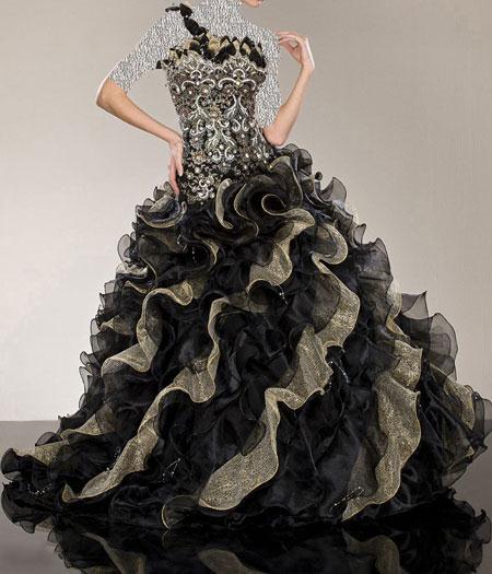عکس مدل لباس نامزدی