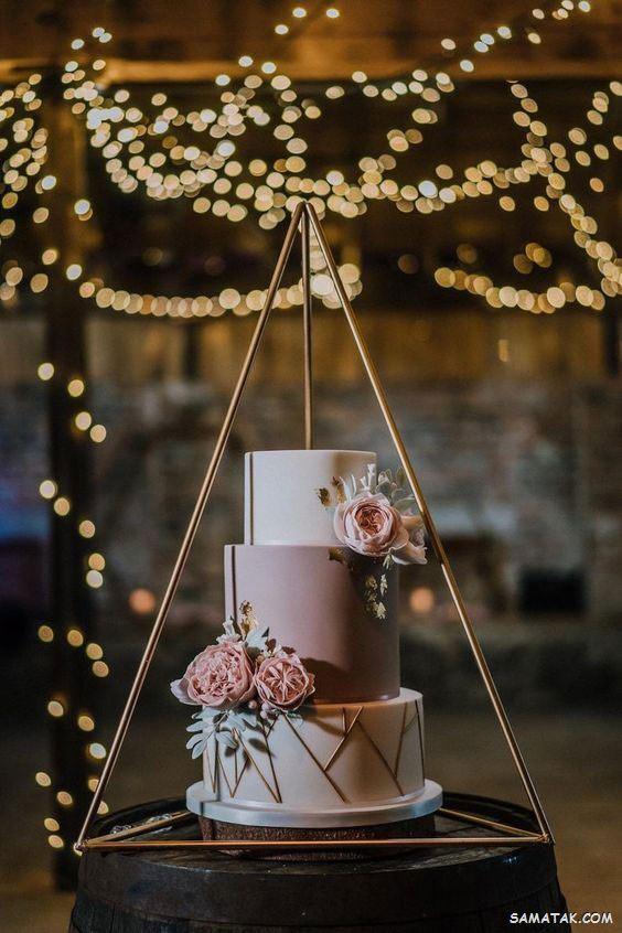 100 مدل کیک عروسی 2021 (یک طبقه، دو طبقه، سه طبقه و چند طبقه)