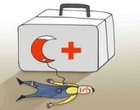 کاریکاتور زیبا به مناسبت روز هلال احمر و صلیب سرخ