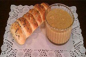 طرز تهیه آش بلغور شیر غذای محلی استان خراسان