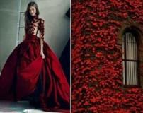 عکس لباس های زیبا با الهام از طبیعت