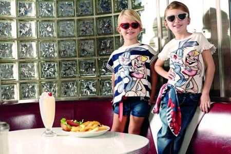 لباس بهاره و تابستانه دخترانه سنین 4 تا 9 سال