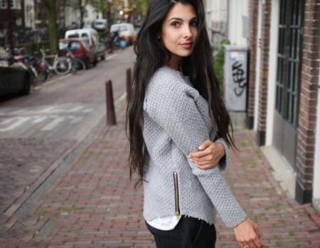 بیوگرافی آنا نوشین مدلینگ و طراح لباس ایرانی در هلند + تصاویر