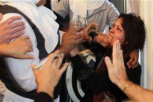 زن داعشی بچه خوک به دنیا آورد + تصاویر