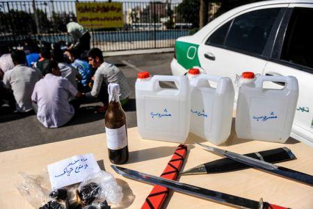با خطرناک ترین اراذل اوباش تهران آشنا شوید + تصاویر