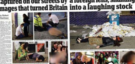 تصاویر غیر اخلاقی از مست کردن شدید دختران و پسران
