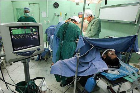 عکس های دیدنی از پیوند اعضای بدن در اتاق عمل