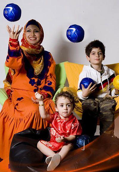 ملیکا زارعی (خاله شادونه) با علی صادقی ازدواج کرد