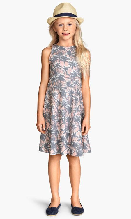 مدل پیراهن دخترانه تابستانی مناسب سنین 7 تا 12 سال