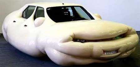 عکس ماشین هایی که با دستکاری خنده دار شدند