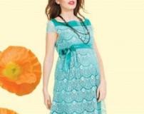 لباس بارداری مجلسی زیبا و شیک تابستانی 2016