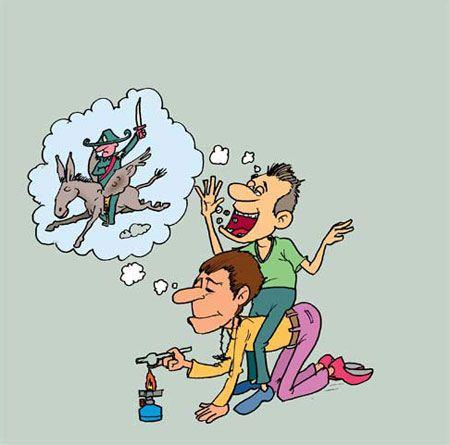 کاریکاتورهای جالب معتادی و اعتیاد به مواد مخدر