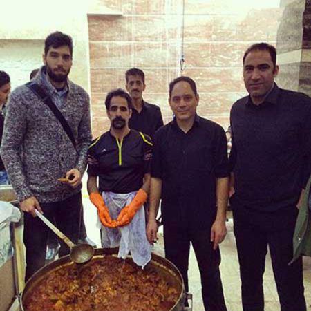 جدیدترین عکس های محمد موسوی بازیکن والیبال
