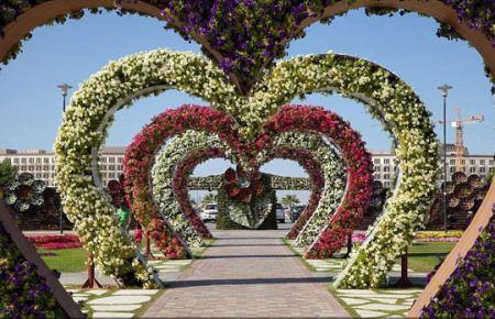 قشنگ ترین باغ گل های زیبا و طبیعی جهان در دبی