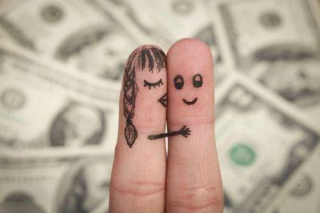 شکلک های عاشقانه با انگشتان دست (عکس)