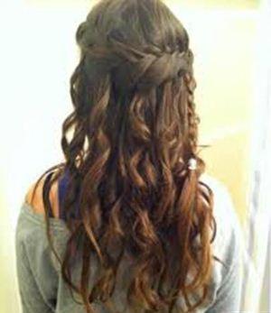 عکس شنیون زیبا و جدید موی زنانه