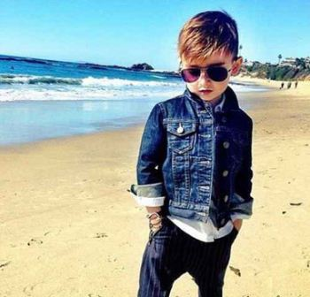 خوش پوش ترین پسر بچه جهان (عکس)