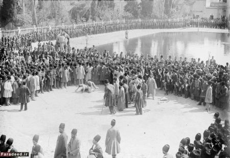 قویترین مرد ایرانی در دوران ناصرالدین شاه قاجار