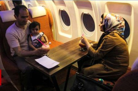 هواپیمایی که به رستوران زمینی در تبریز تبدیل شد